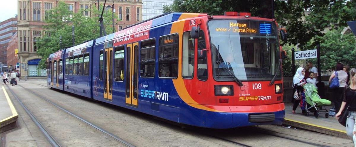 Sheffield Supertram Image